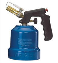 Blowtorches with cartridge